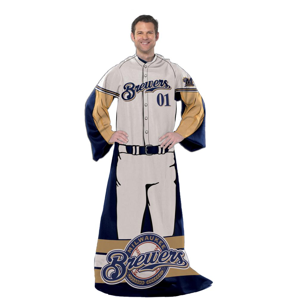 Brewers Multi Color Polyester Comfy Throw