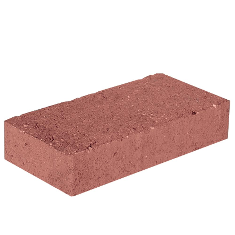 Pavestone 7.87 in. L x 3.94 in. W x 1.77 in. H Red Concrete Paver Holland (672-Pieces/145 sq. ft./Pallet)