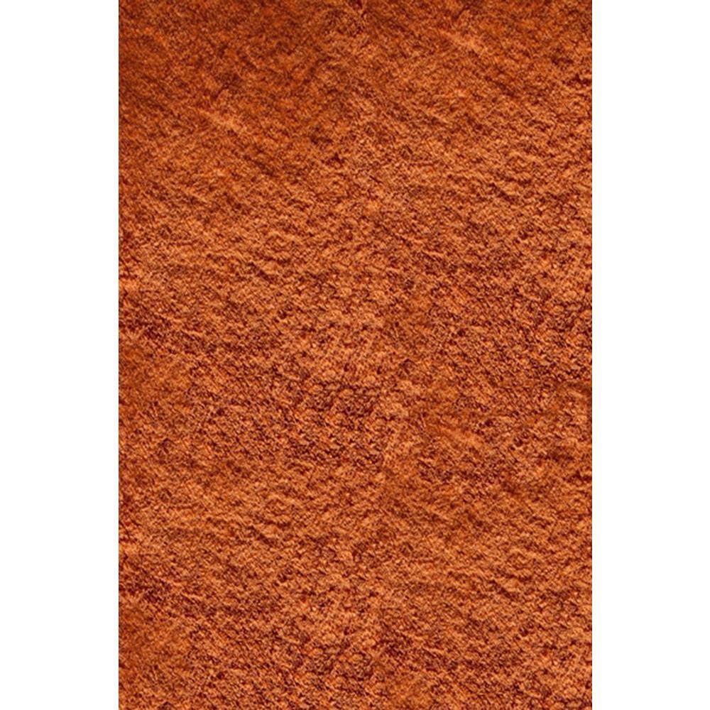Luster Shag Tangerine 8 ft. x 10 ft. Indoor Area Rug