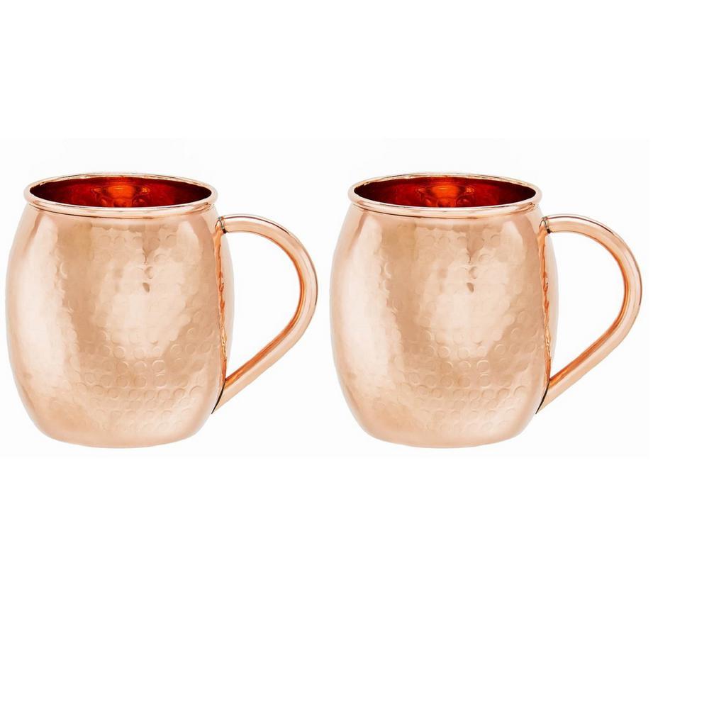 Old Dutch 16 Oz. Hammered Solid Copper Moscow Mule Mug