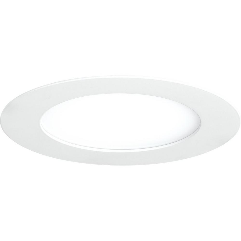 Progress Lighting 7 In 3000k White Integrated Led Recessed Trim