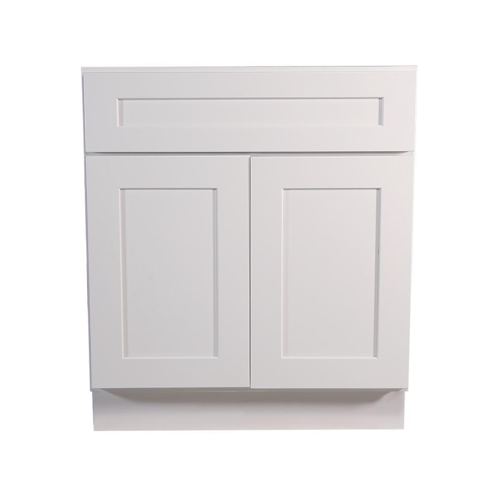 Krosswood Doors Ready To Assemble 27x34.5x23.7 In. Shaker