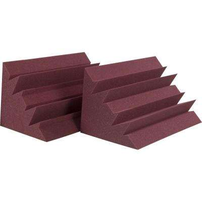 LENRD Bass Traps - Burgundy (8-Box)