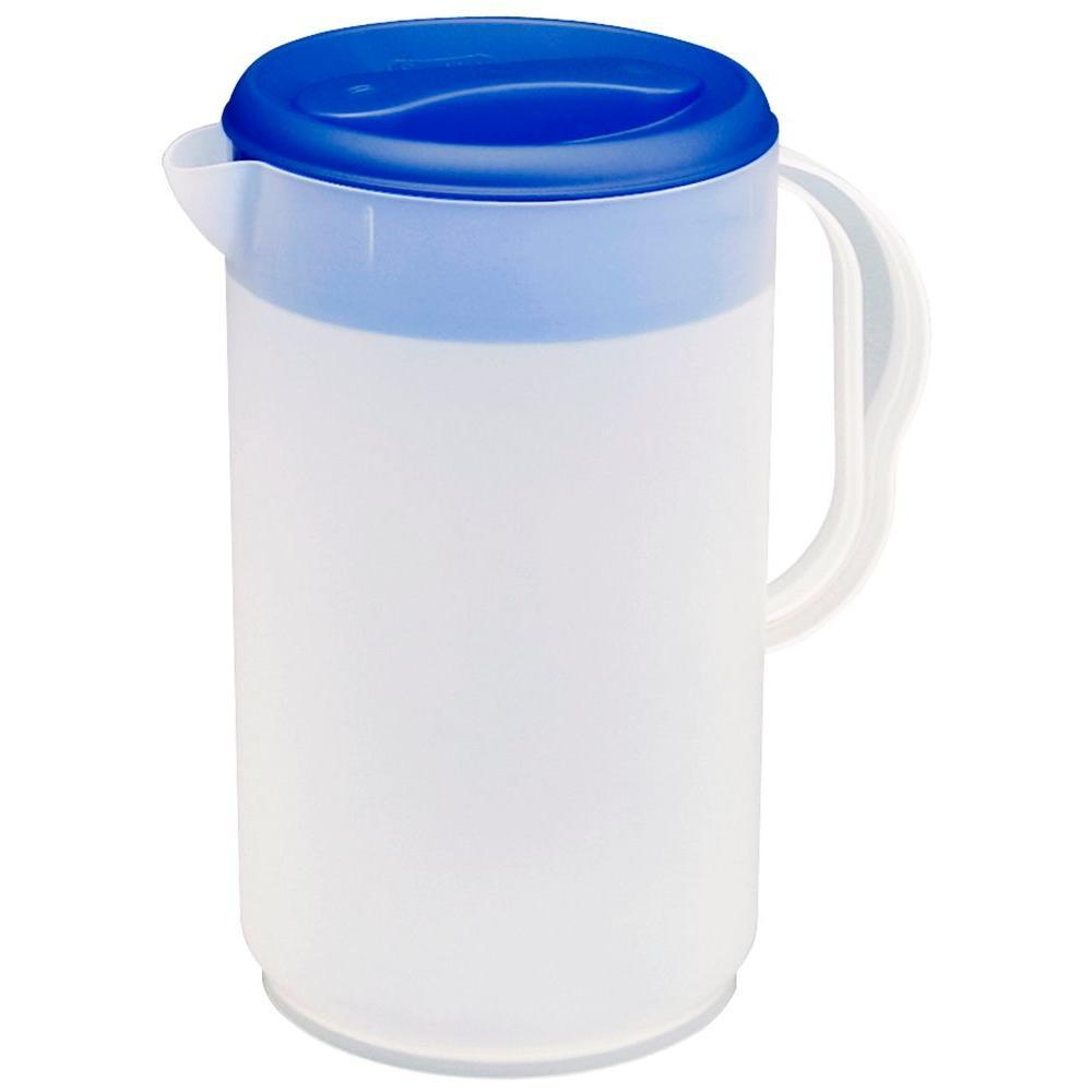 Sterilite Twist & Pour- 1 Gallon Pitcher (6-Pack)