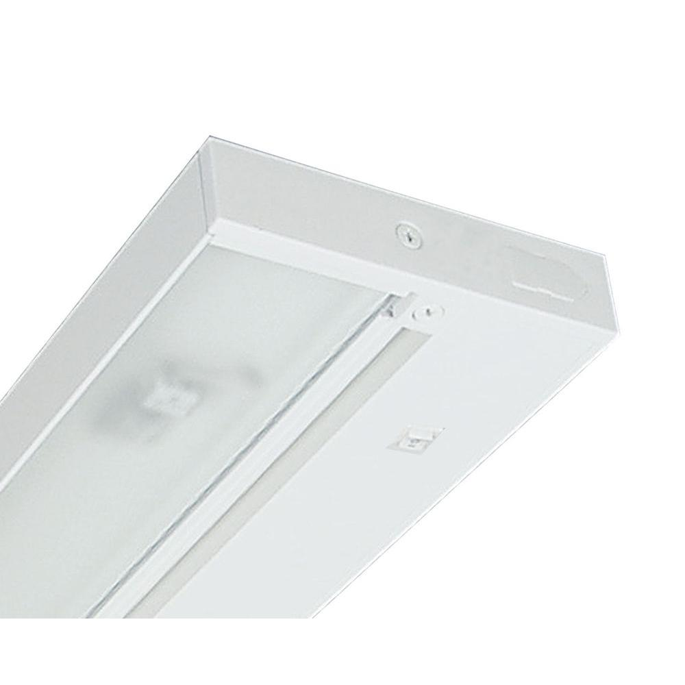 Juno Pro-Series 22 in. White Halogen Under Cabinet Light-ULH322 WH ...