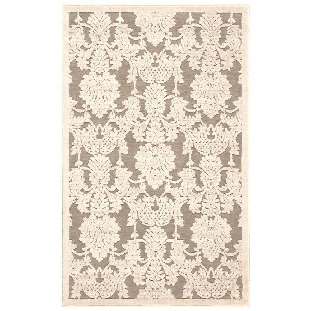 Graphic Illusions Nickel 2 ft. 3 in. x 3 ft. 9