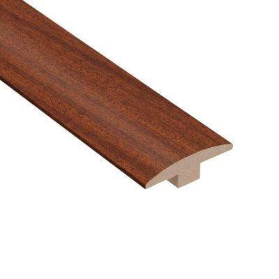 Matte Bailey Mahogany 3/8 in. Thick x 2 in. Wide x 78 in. Length Hardwood T-Molding