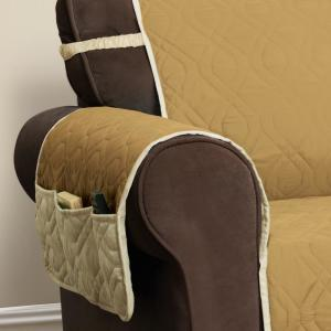 Prime Innovative Textile Solutions 5 Star Gold Loveseat Protector Machost Co Dining Chair Design Ideas Machostcouk
