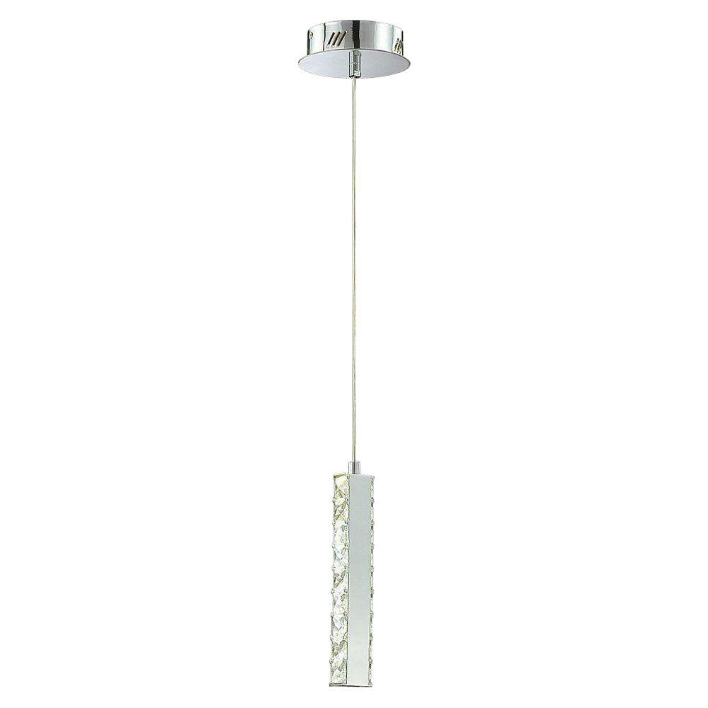 Eurofase Cronos 6-Light Chrome LED Mini Pendant