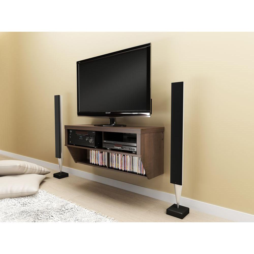 Prepac Series 9 Espresso Entertainment Center