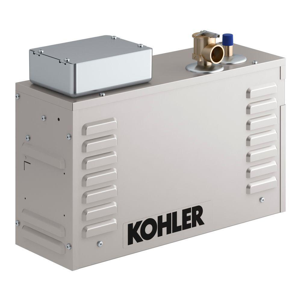 Kohler Invigoration 11kw Steam Bath Generator K 5531 Na The Home Depot