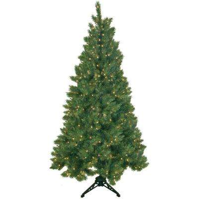6.5 Ft - Pre-Lit Christmas Trees - Artificial Christmas Trees ...
