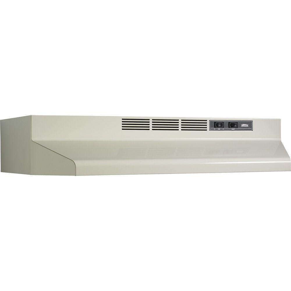 41000 Series 24 in. Non-Vented Range Hood in Bisque