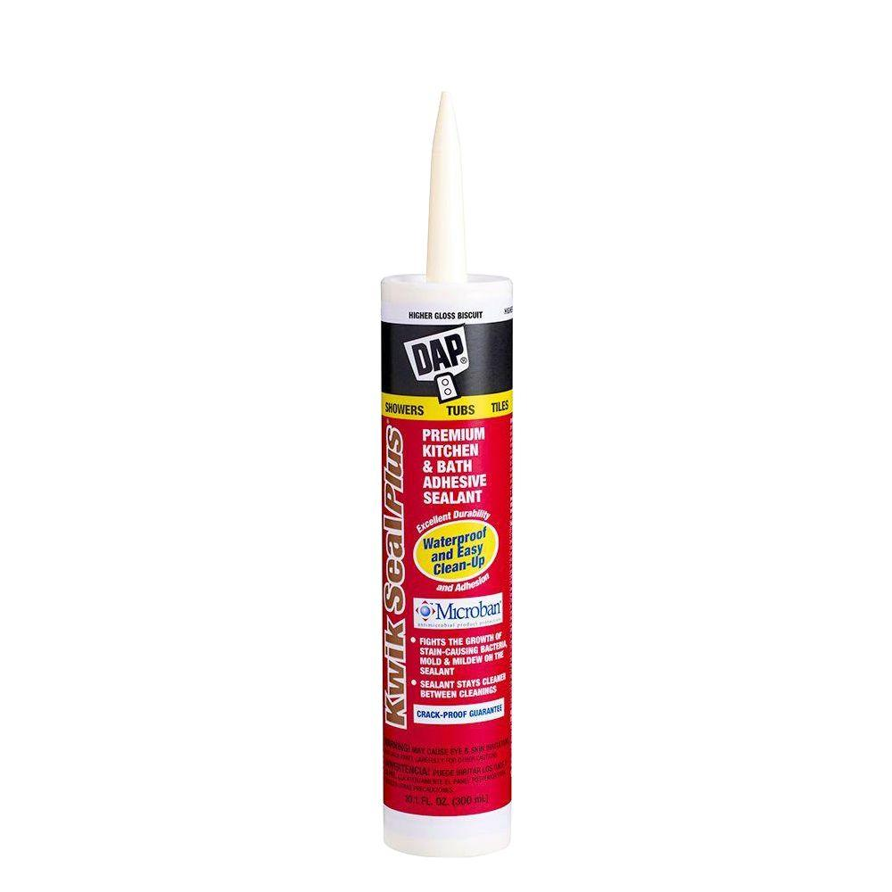 Grey Kitchen And Bath Caulk: DAP Dynaflex 230 10.1 Oz. Premium Indoor/Outdoor Sealant