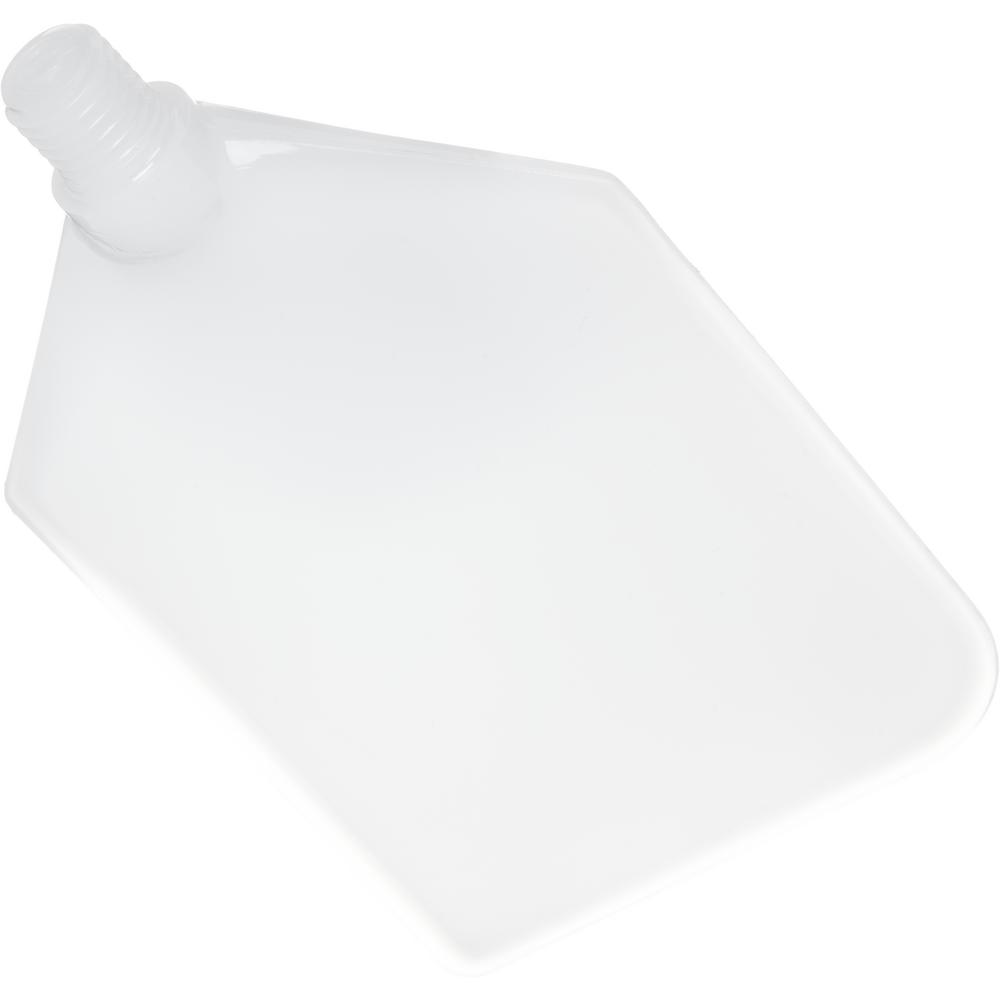Carlisle 4.5 in. x 7.5 in. Replacement Polyethylene Paddle Scraper Blade (Case of 6)
