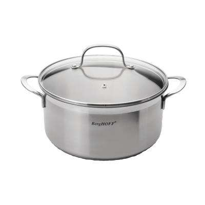 Essentials 4.8 Qt. Stainless Steel Covered Stockpot