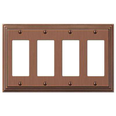 Steps 4 Decora Wall Plate - Antique Copper