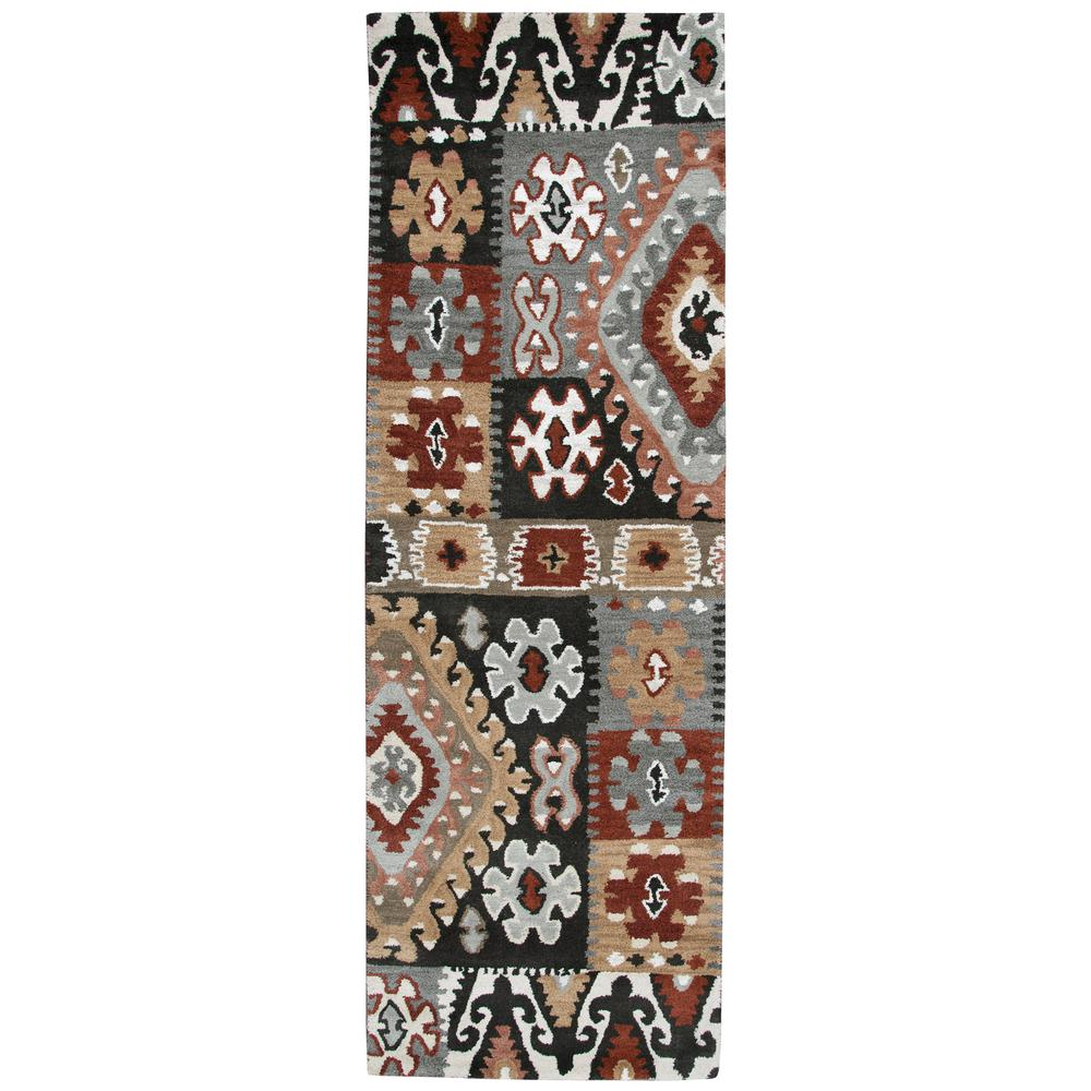 Rizzy Home Southwest Multi Colored 2 Ft 6 In X 8 Ft Native