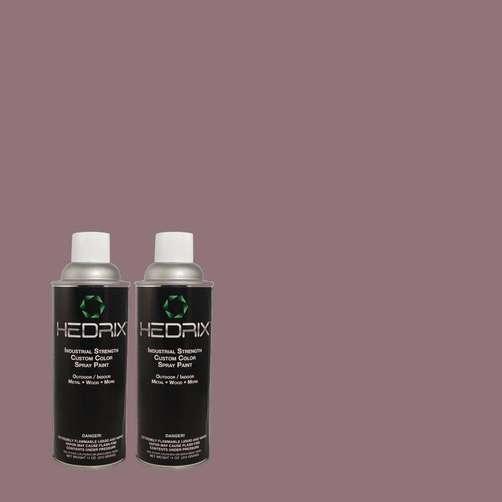 Hedrix 11 oz. Match of MQ5-37 Composer's Magic Gloss Custom Spray Paint (2-Pack)