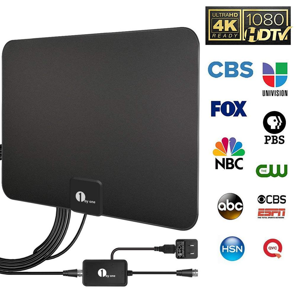 1byOne Amplified Indoor HDTV Antenna