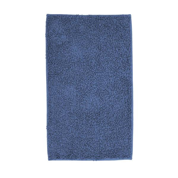 The Company Store Company Cotton Chunky Loop Sapphire 24 in. x 24 in. Bath Rug