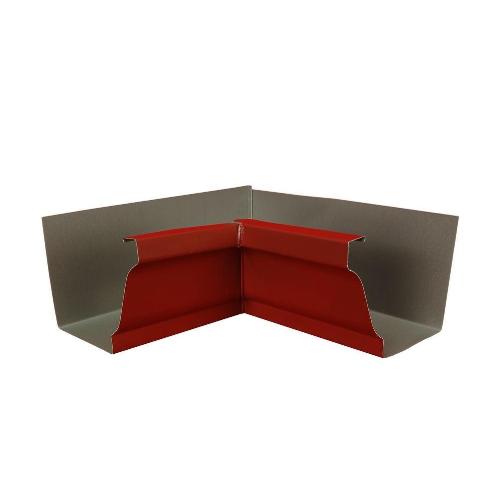 5 in. Red Aluminum Inside Miter Box