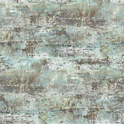 4 ft. x 8 ft. Laminate Sheet in RE-COVER Mason Milk Paint with Virtual Design Antique Finish