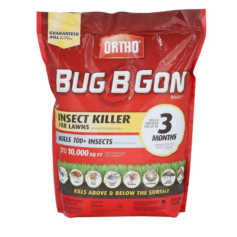 Ortho 10 Lb Bug B Gon Max Insect Killer For Lawns 020084205 The Mosquito Circuit Is Composed Of Energy Saving Lamp Home Depot