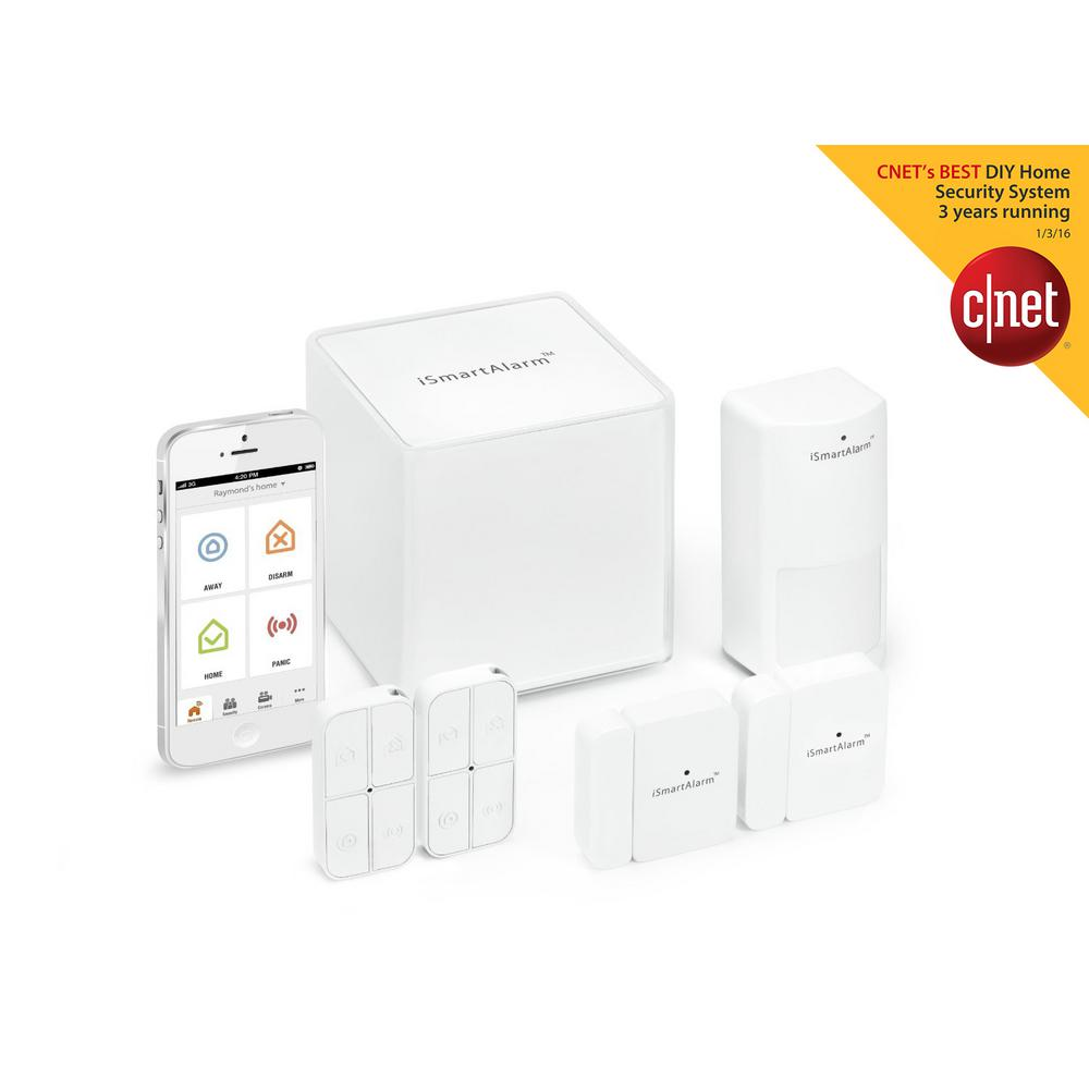 iSmartAlarm Home Security System Preferred Package