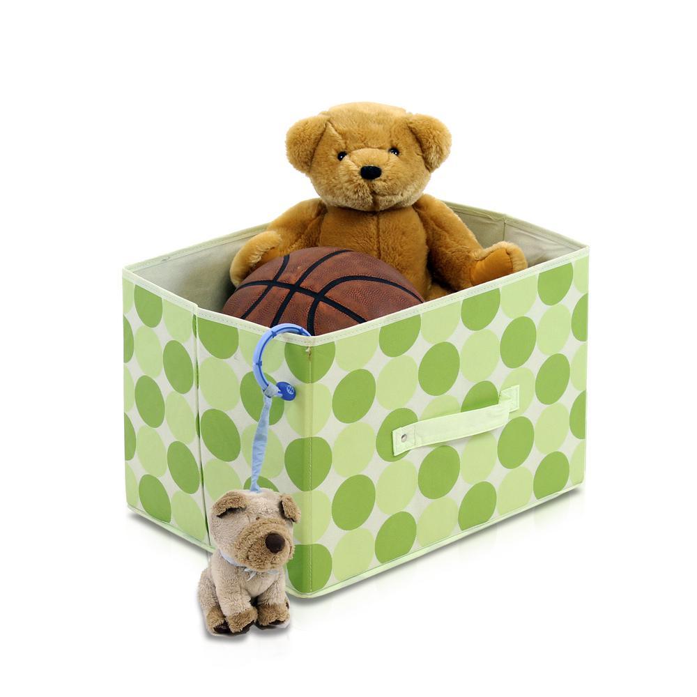 Laci Green Fabric Soft Storage Organizer (3-Pack)