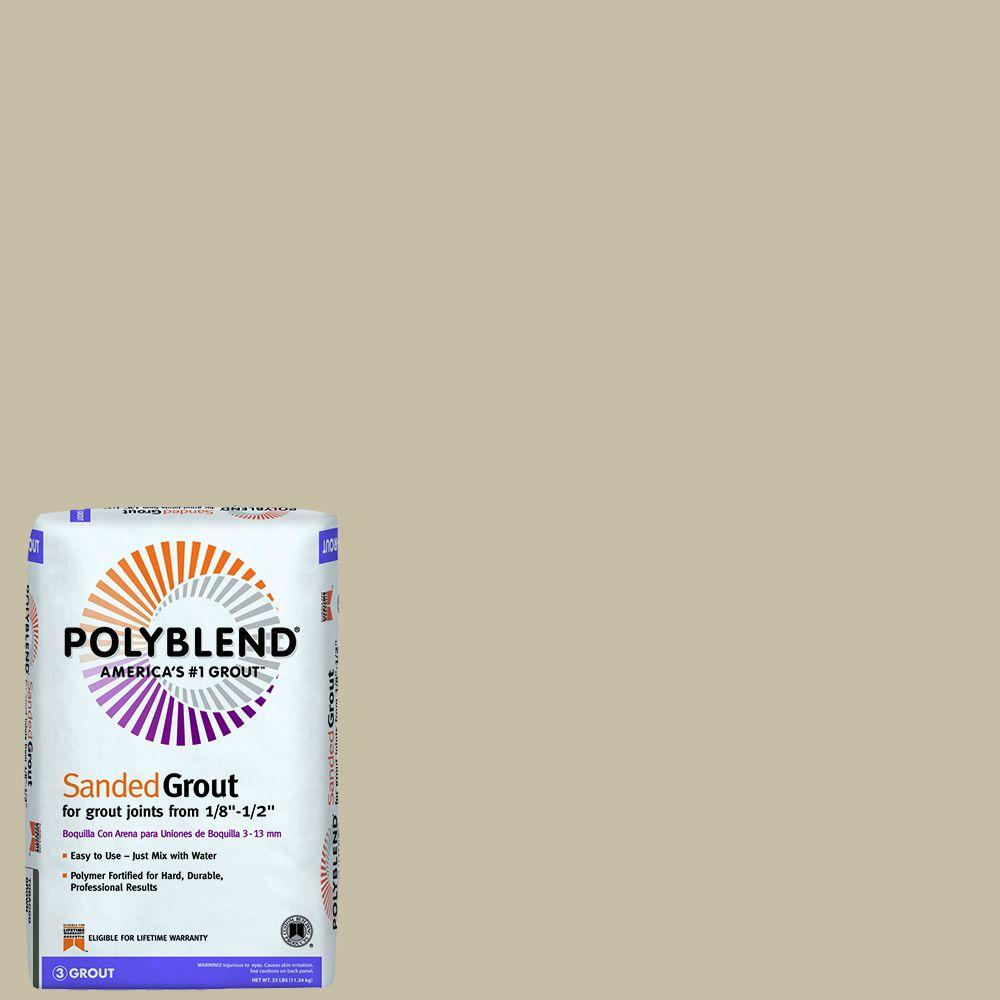 CustomBuildingProducts Custom Building Products Polyblend #101 Quartz 25 lb. Sanded Grout