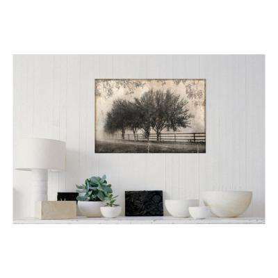 30 in. W x 20 in. H 'Morning Shades I: Countryside' by Pela + Silverman Printed Gallery Wrap Canvas Wall Art