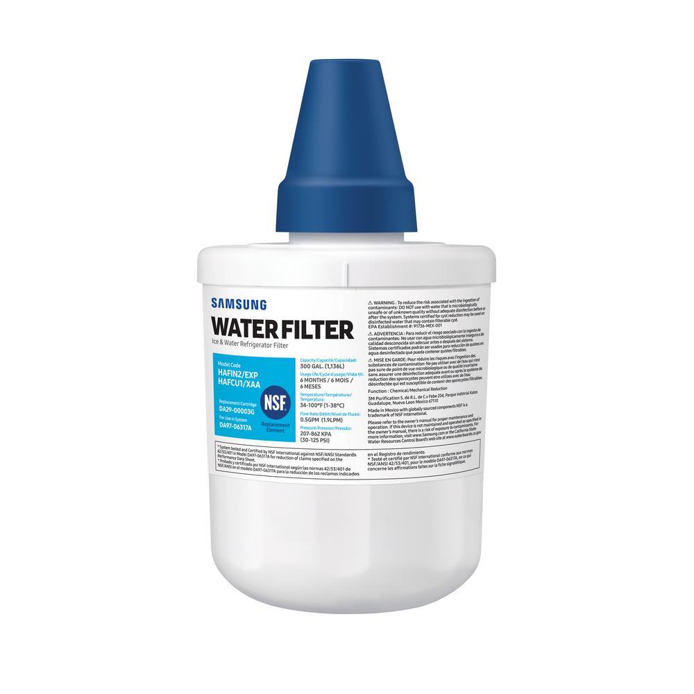Samsung Genuine HAF-CU1S Water Filter for Samsung Refrigerators