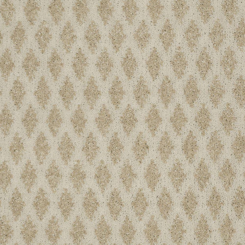 Martha Stewart Living Mayfield Valley - Color Natural Twine 6 in. x 9 in. Take Home Carpet Sample-DISCONTINUED