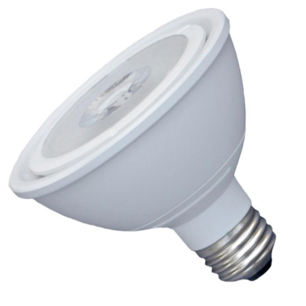 75-Watt Equivalent 11-Watt White PAR30S Short Neck Dimmable ENERGY STAR Narrow Flood LED Light Bulb Warm White 83018