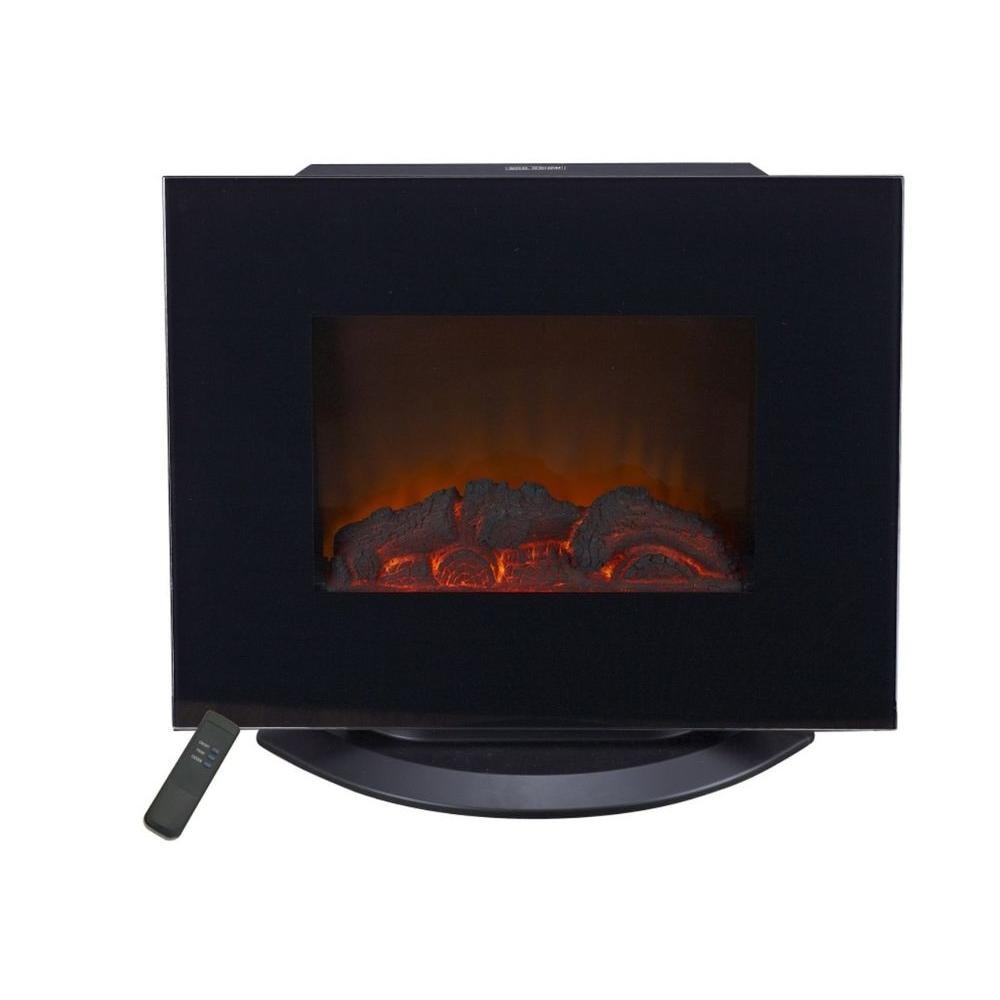 Lifesmart Multi Function Infared Fireplace 1500-Watt Infrared Wall Portable Heater/Fireplace with TV Stand Dual Mount-DISCONTINUED