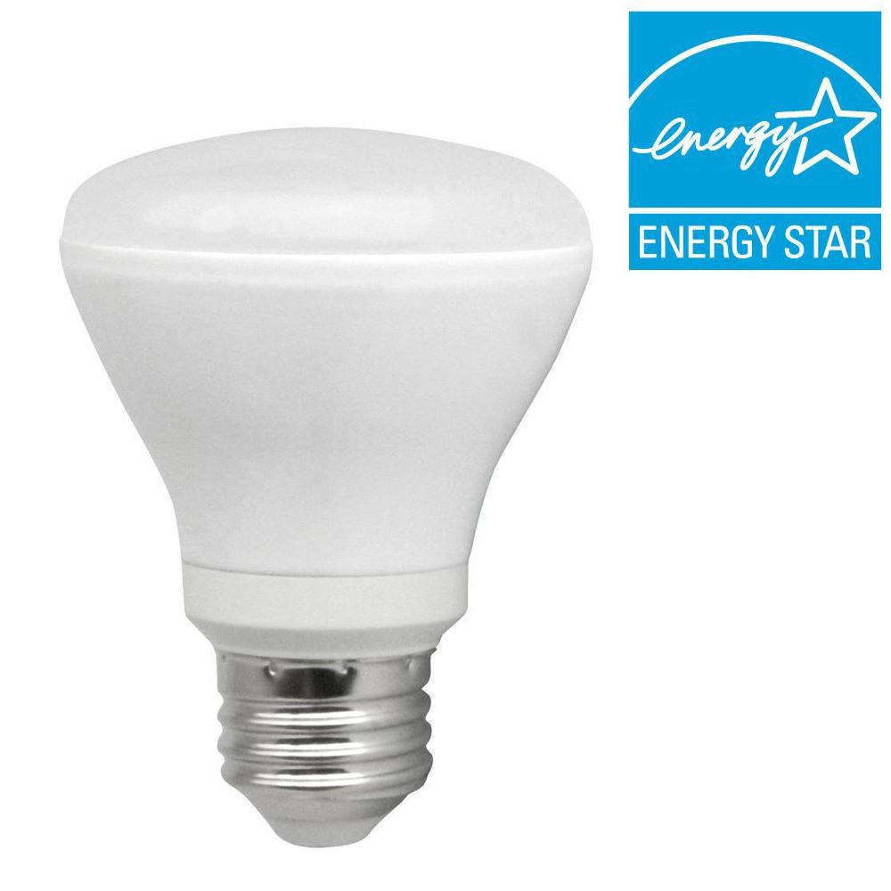 TCP 50W Equivalent Soft White (2700K) R20 Dimmable LED Flood Light Bulb (8-Pack)