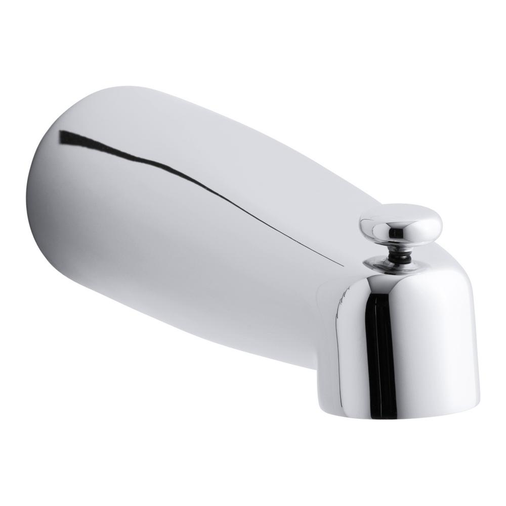 KOHLER Coralais 8 in. Diverter Bath Spout in Polished Chrome-K ...