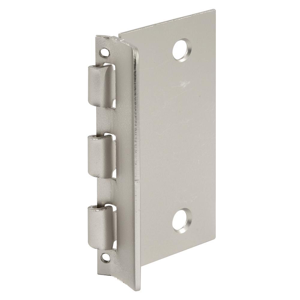 Flip Door Lock, 1-3/8 in. x 2-3/4 in., Steel, Satin Nickel, Privacy Flip-Action Lock