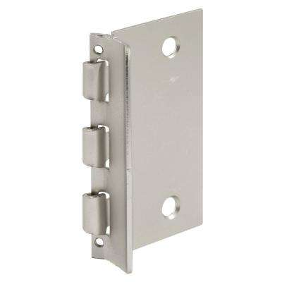 Flip Door Lock, 1-3/8 in. x 2-3/4 in., Steel, Satin Nickel, Privacy Flip-Action Lock