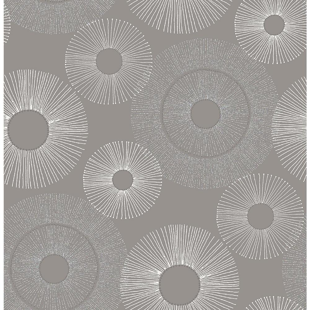 Kenneth James Eternity Grey Sparkle Wallpaper Sample 2671