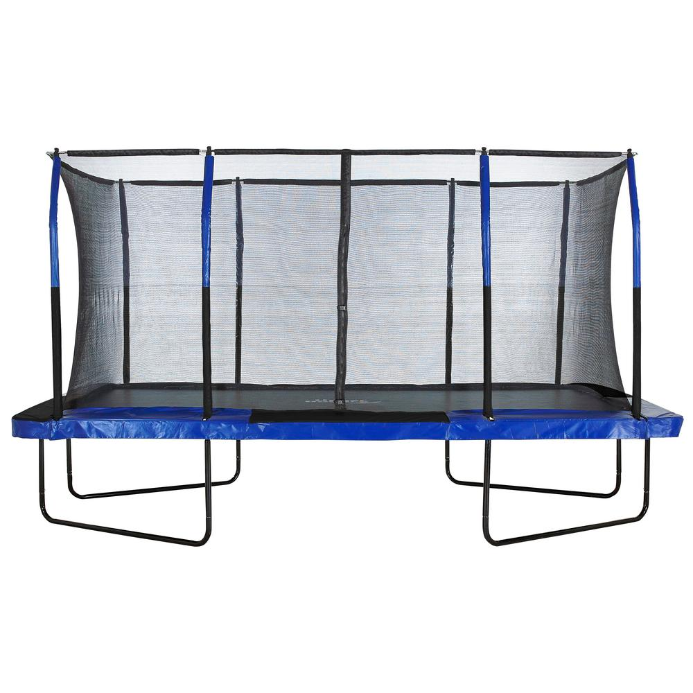 Bounce Trampoline Springs: Upper Bounce Easy Assemble Spacious 8 Ft. X 14 Ft