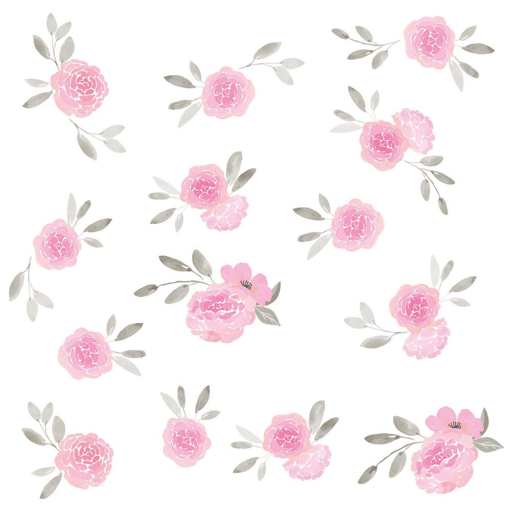 Wall Pops Pink May Flowers Wall Decal