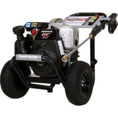 SIMPSON MSH3125 3200 PSI at 2 5 GPM gas pressure washer powered by HONDA  GC190
