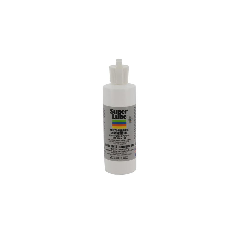 Super Lube 8 oz. Multi-Purpose Synthetic Oil Bottle with Syncolon (PTFE) (ISO 100-150)