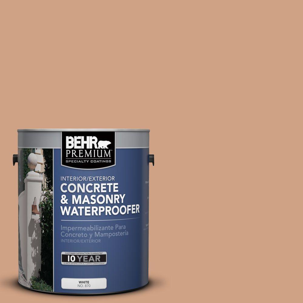 BEHR Premium 1 gal. #BW-52 Terra Sienna Concrete and Masonry Waterproofer
