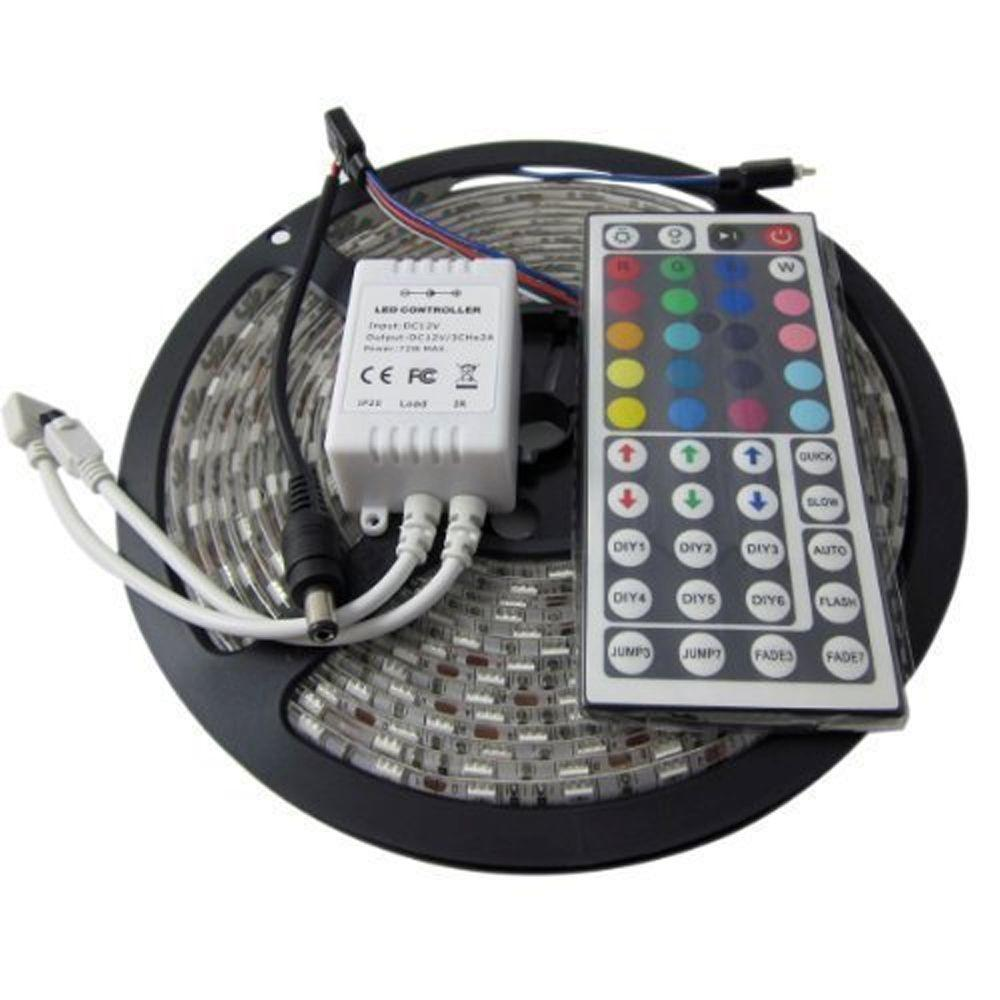 Adx 164 ft led ip65 rated strip light kit led strip na the home led ip65 rated strip light kit aloadofball Images