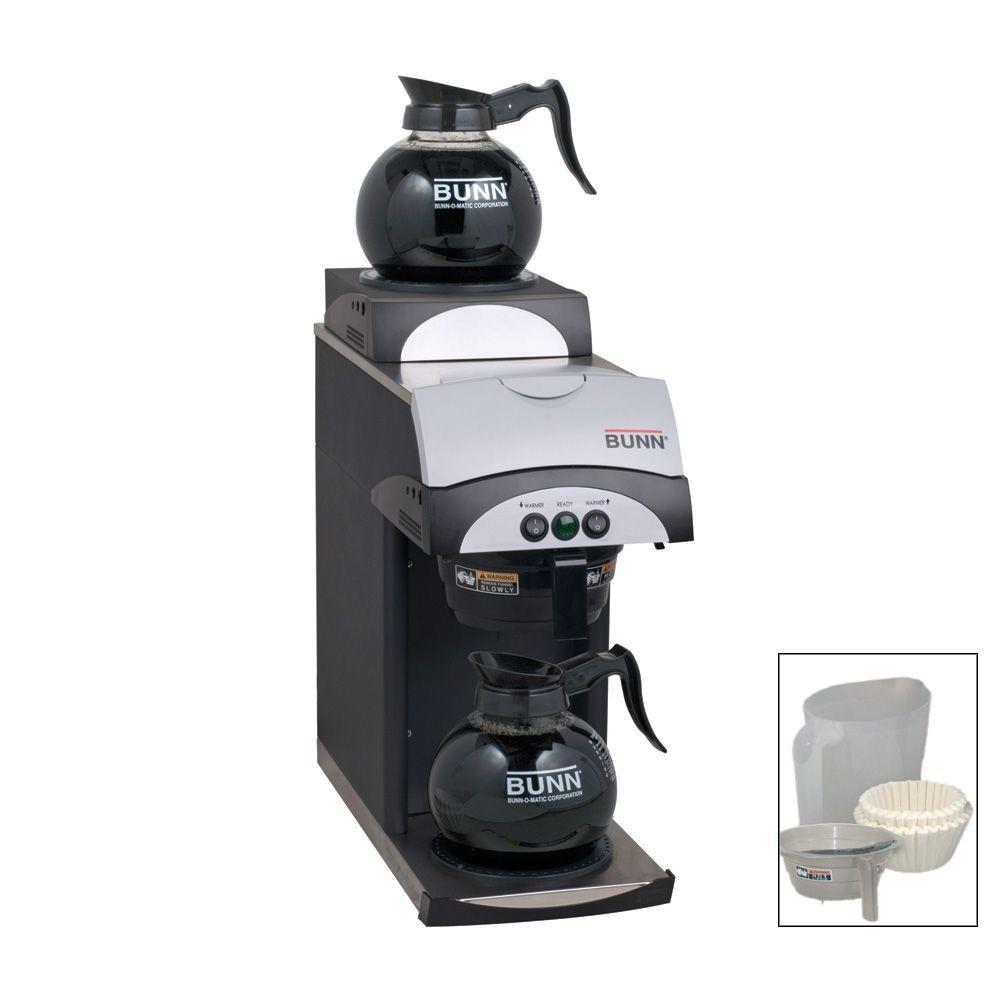 Bunn 12-Cup Commercial Pourover Coffee Brewer Bonus Pack-DISCONTINUED