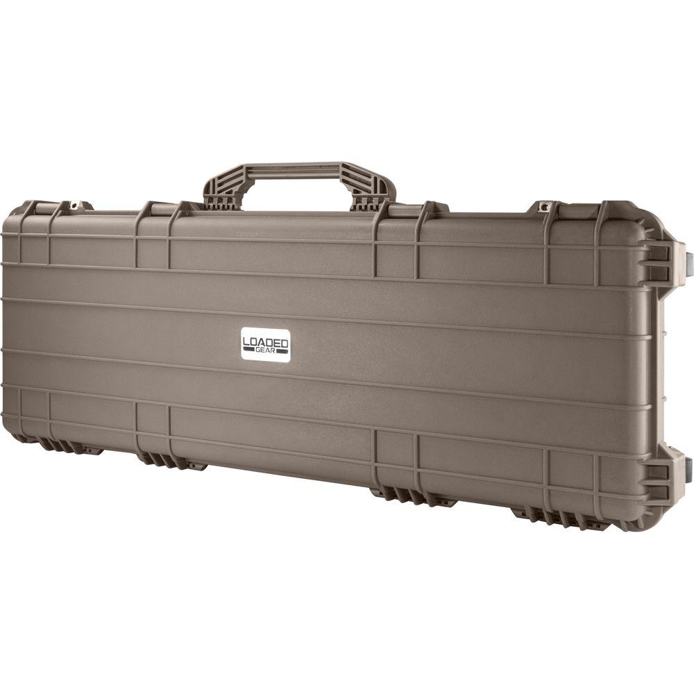 Loaded Gear 42 in. AX-600 Hard Tool Case in Dark Earth