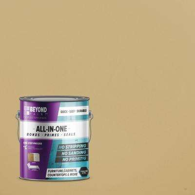 1 gal. Linen Furniture, Cabinets, Countertops and More Multi-Surface All-in-One Interior/Exterior Refinishing Paint